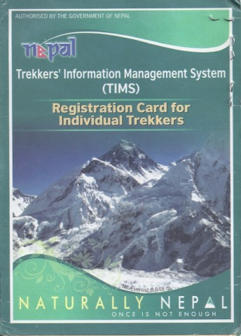 Trekkers' Information Management System (TIMS)