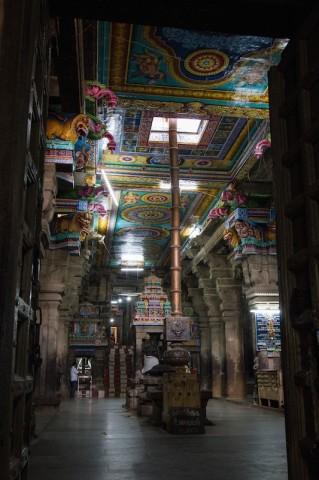 Blick in den Uchchi Pillaiyar Koil