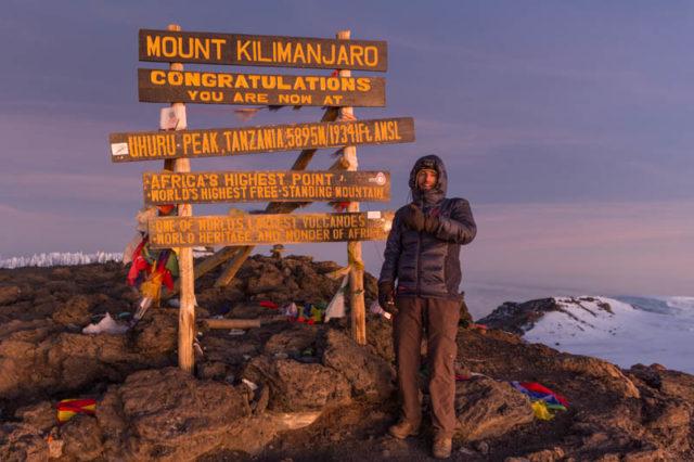Uhuru Peak - 5.895 m