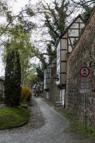 Stadtmauer und Wiekhäuser