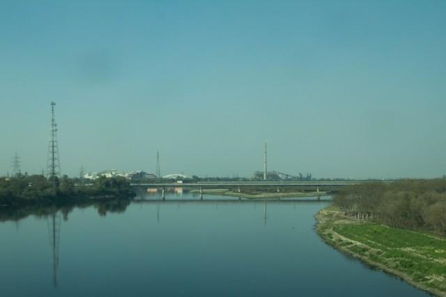 der Yamuna River in Delhi